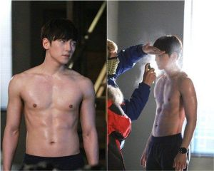Healer Shirtless
