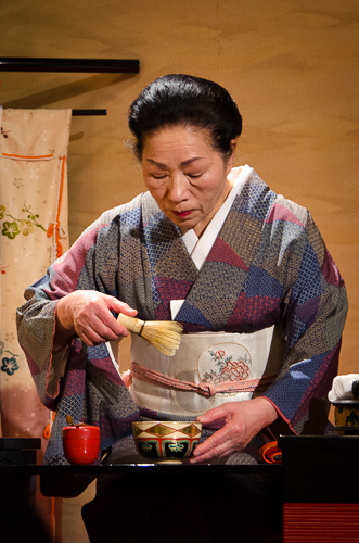 Geisha at Tea Ceremony