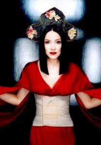 Like a Geisha.