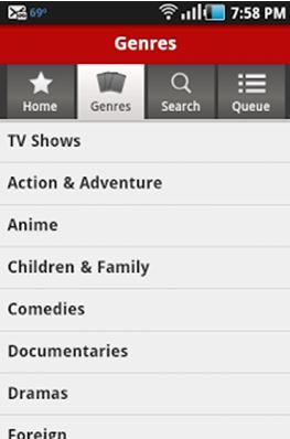 Netflix app 2
