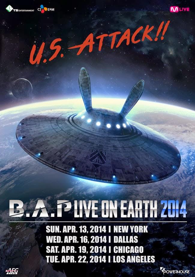 B.A.P Invades