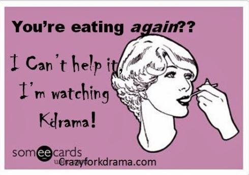 kdrama eating